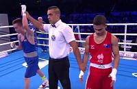 На чемпионате мира по боксу Василий Егоров победил своего первого соперника