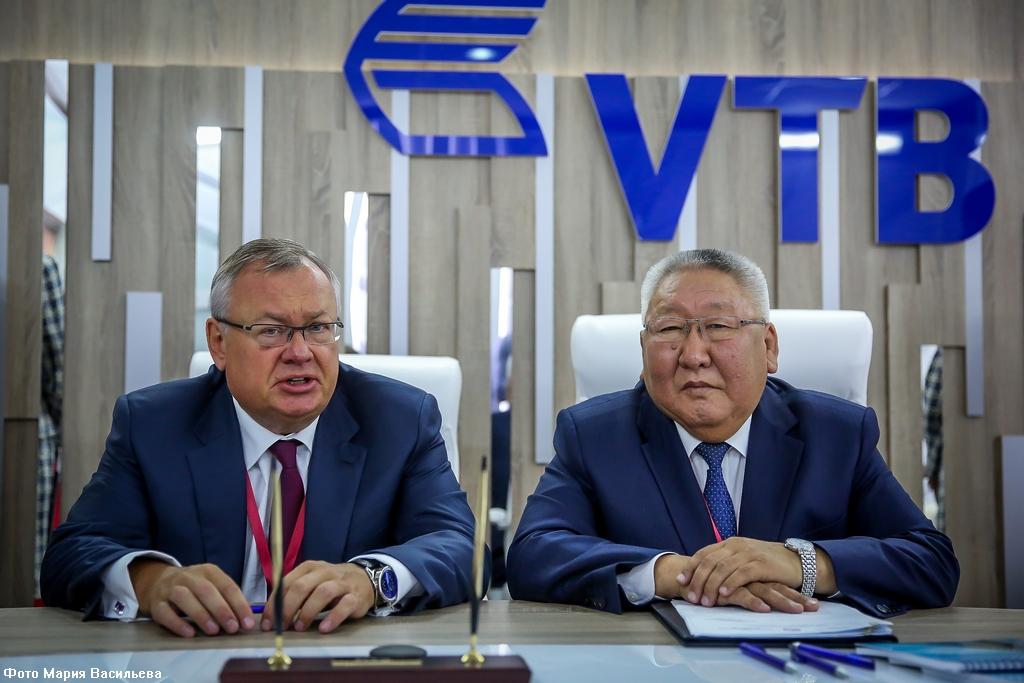 Глава Якутии подписал соглашение о сотрудничестве с руководством Банка ВТБ