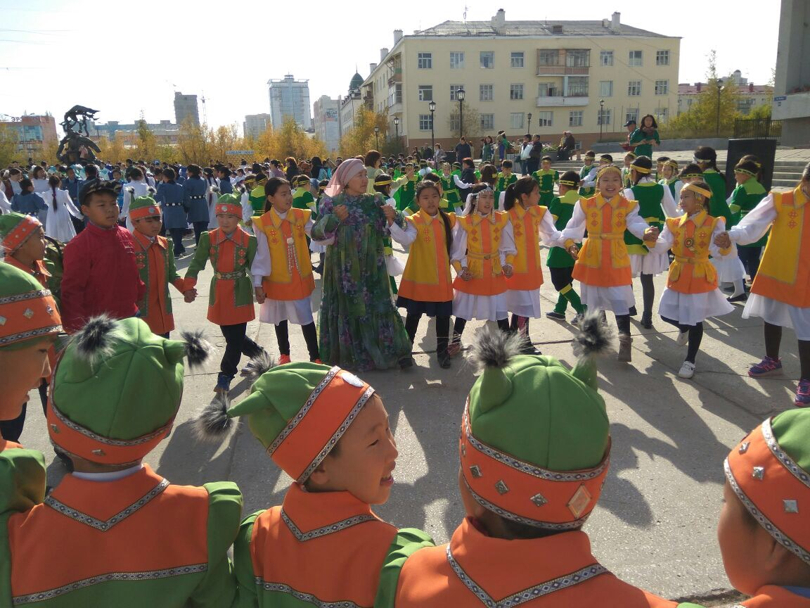 День Осуохая в городской школе