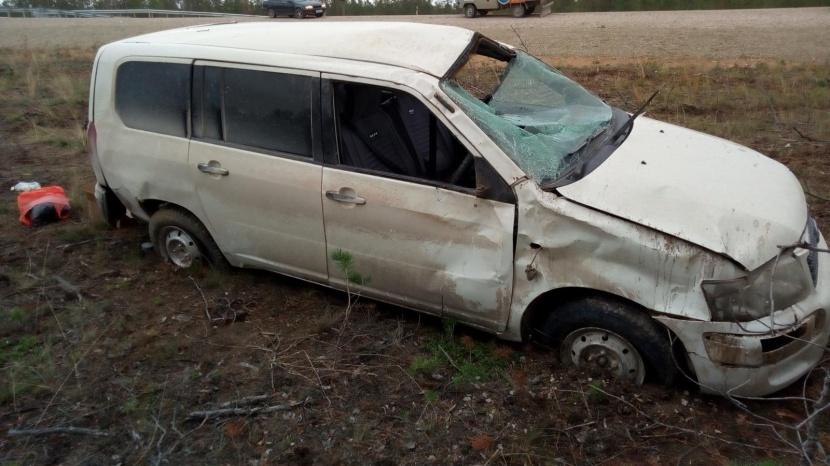 В Мегино-Кангаласском районе в результате ДТП погиб водитель, еще трое пострадали