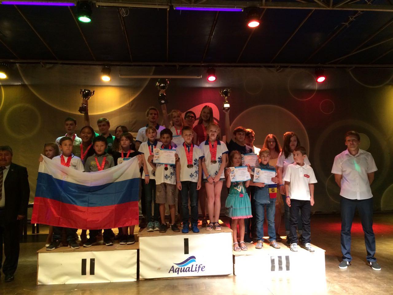 11 медалей первенства мира завоевали юные шашисты Якутии