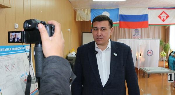 Александр Ноговицын: Избирая, мы не только доверяем, но и приобретаем право требовать