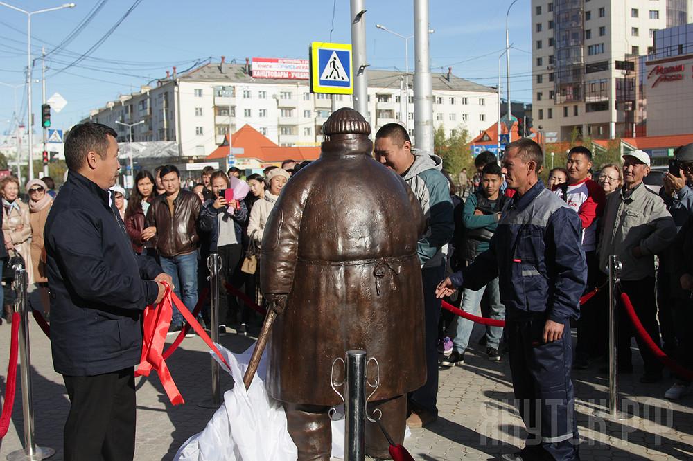День города Якутска: открылся арт-объект «Дворник»