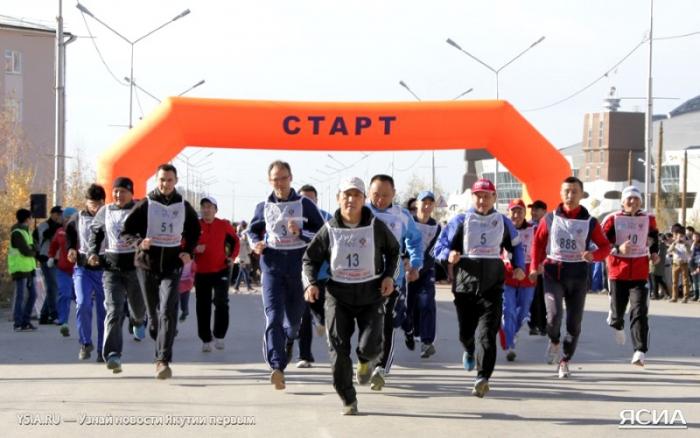 В Якутске пройдет Всероссийский день бега «Кросс нации – 2017»