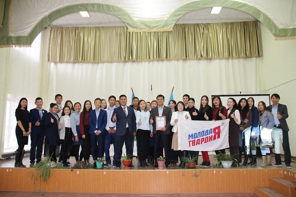 Руководство Молодой Гвардии продолжает работать в районах республики