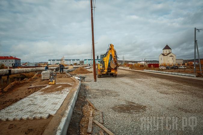 Ремонтные работы улично-дорожной сети Якутска на завершающем этапе