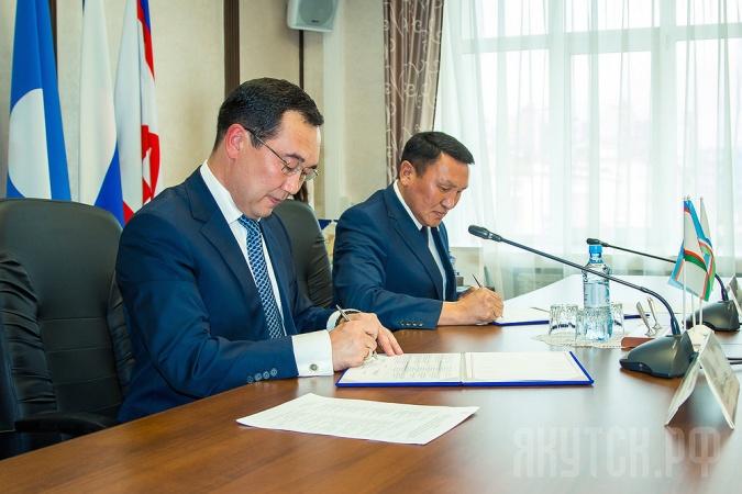 Якутск и Олекминский район подписали соглашение о сотрудничестве