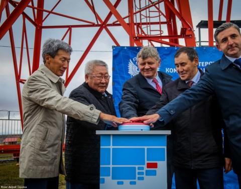 Егор Борисов запустил цифровое эфирное телерадиовещание в четырёх сёлах Хангаласского улуса