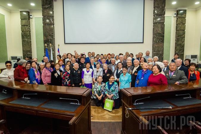 В Якутске состоялось торжественное мероприятие «День добра и уважения старшему поколению»
