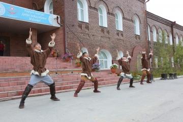 В Якутске проходят дни Жиганского района