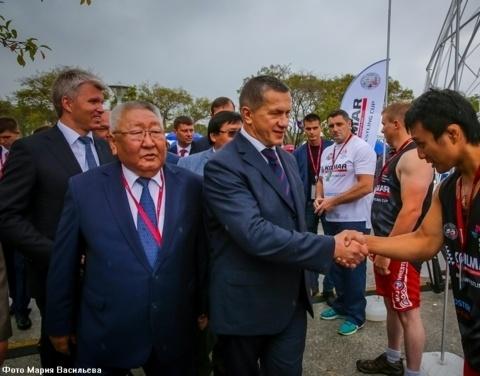Егор Борисов: «Турнир по мас-рестлингу на полях ВЭФ станет традиционным»