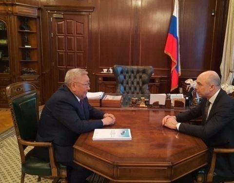Егор Борисов и Антон Силуанов обсудили вопросы обеспечения сбалансированности бюджета республики
