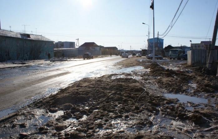 Жители окраин города Якутска поднимают вопрос  уличных освещений и ремонт дорог