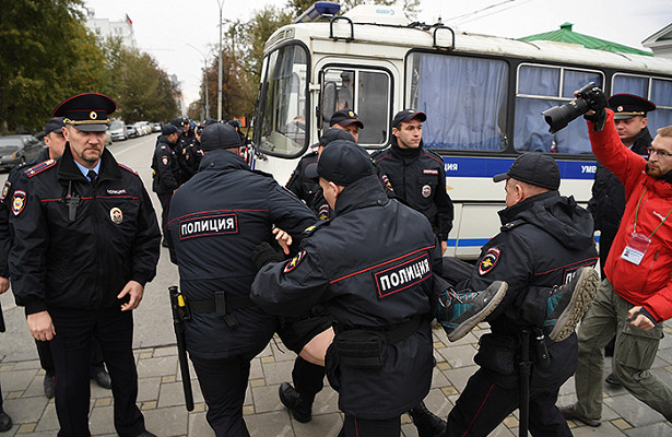 Власти города разрешили провести акцию против произвола полиции