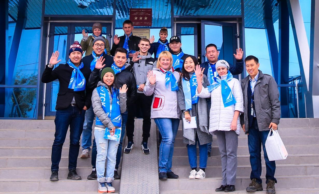 Благотворительный марафон аэропорта «Якутск» ко Дню пожилых
