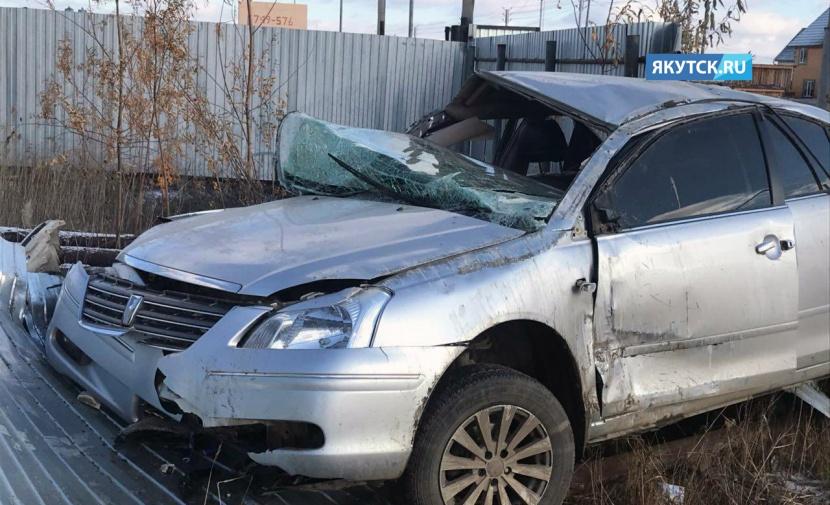 В Якутске в результате ДТП погибли два человека