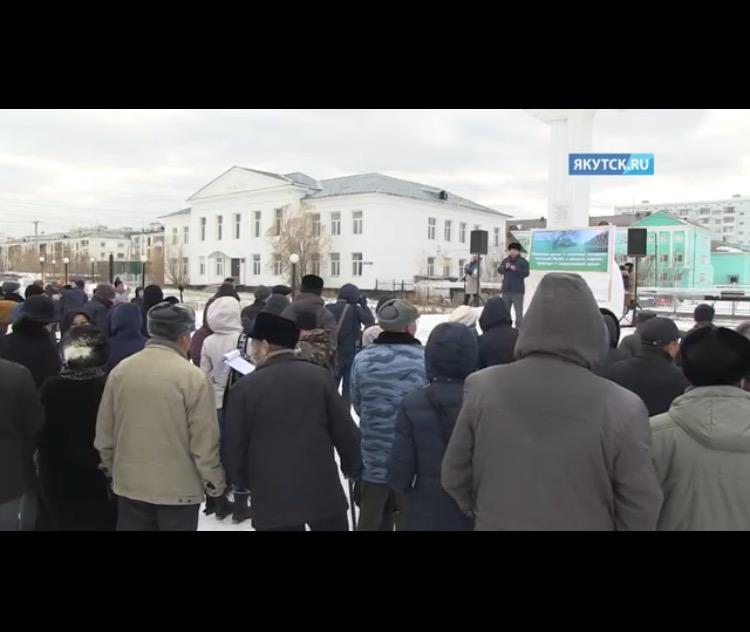 В Якутске прошел экологический митинг