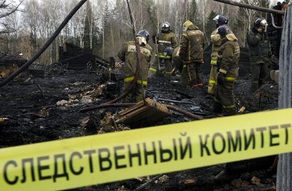 По факту обнаружения тела мужчины при тушении пожара в Мирнинском районе проводится процессуальная проверка