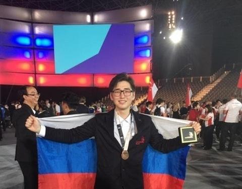 Якутский колледж поздравляет своего выпускника Степана Кириллина с победой на чемпионате мира WorldSkills