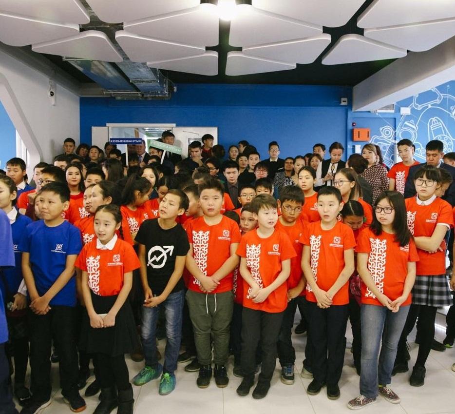 Резиденты нового детского технопарка ознакомили со своими проектами посетителей