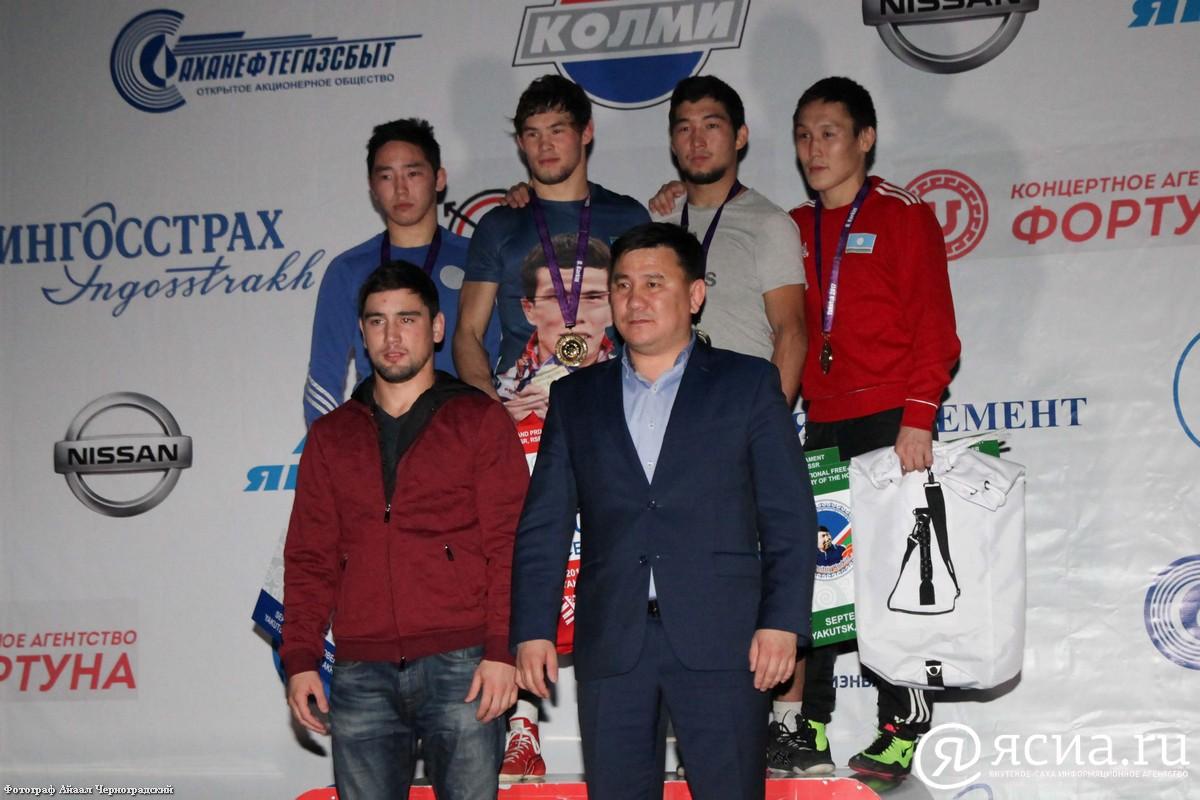 В Якутске завершился международный турнир по вольной борьбе памяти Дмитрия Коркина
