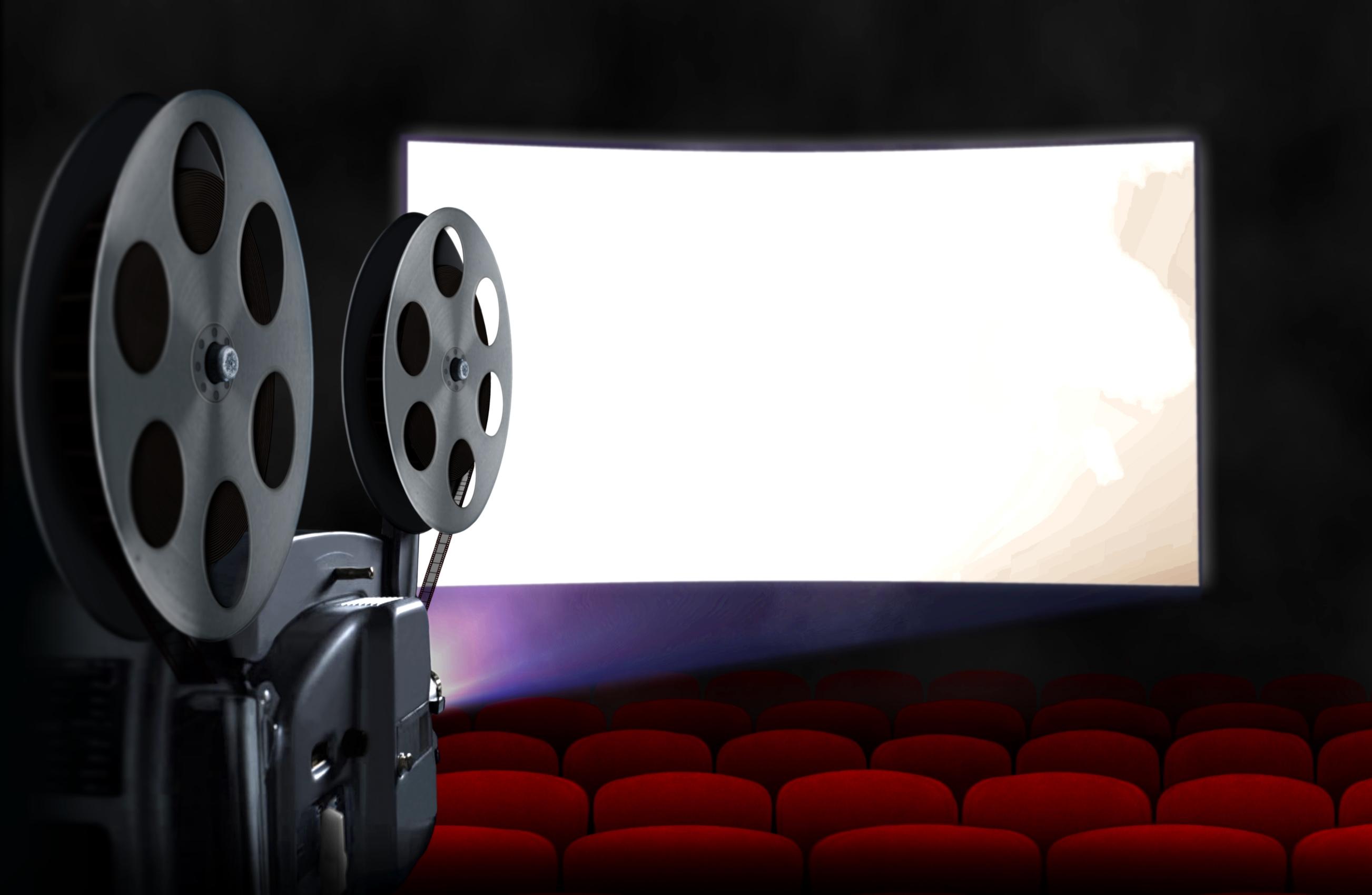 Movie theatre sign of knee