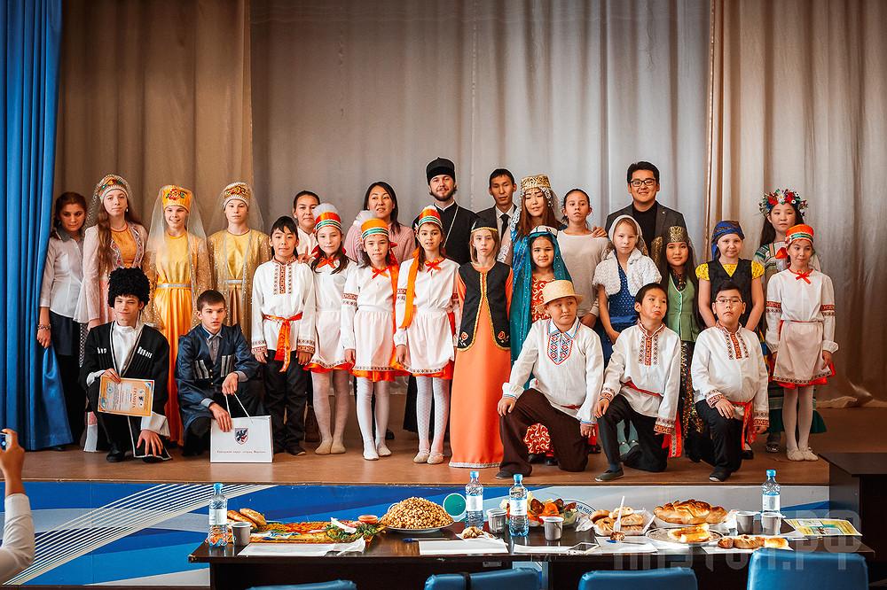 Конкурс «Мы едины» среди коррекционных школ