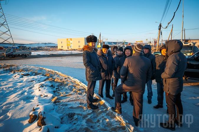 Объезд главы города: строительство программных объектов и ремонт дорог