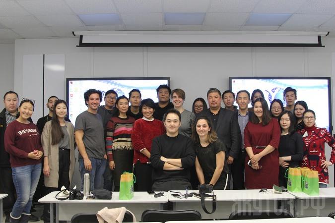 В СВФУ прошла встреча со студентами из Гарварда