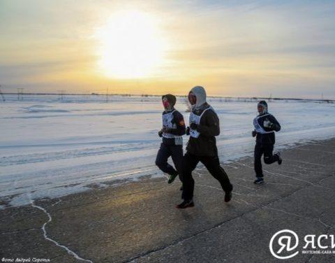 Холод — наш друг: Первый в стране полумарафон в экстремальных зимних условиях прошел в Якутии