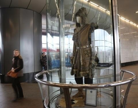 Выставка народно-прикладного искусства Якутии открылась на станции метро «Воробьевы горы» в Москве