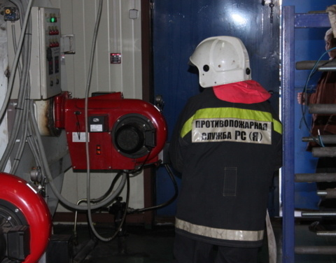 В Булунском районе оперативно ликвидировали возгорание в котельной