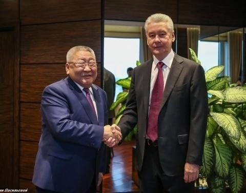 Сергей Собянин и Егор Борисов обсудили вопросы реализации соглашения между правительствами регионов