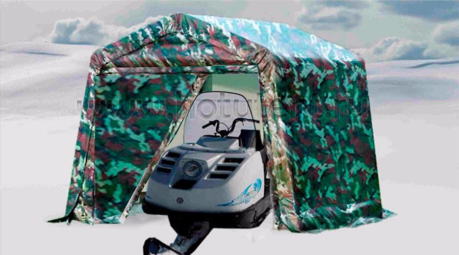Как сэкономить на зимнем гараже? «Хоту-Тент» предлагает свою выгодную альтернативу