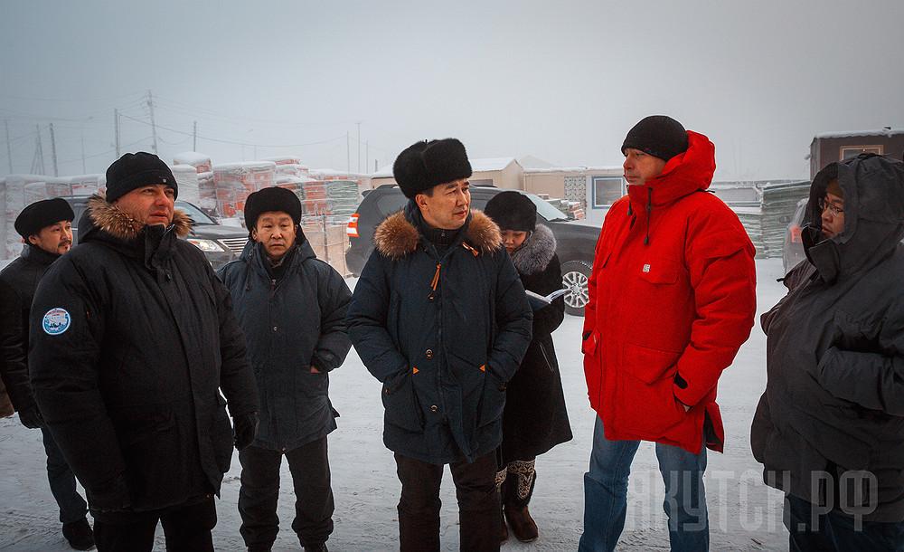 Предновогодний Якутск: Айсен Николаев провел традиционный объезд