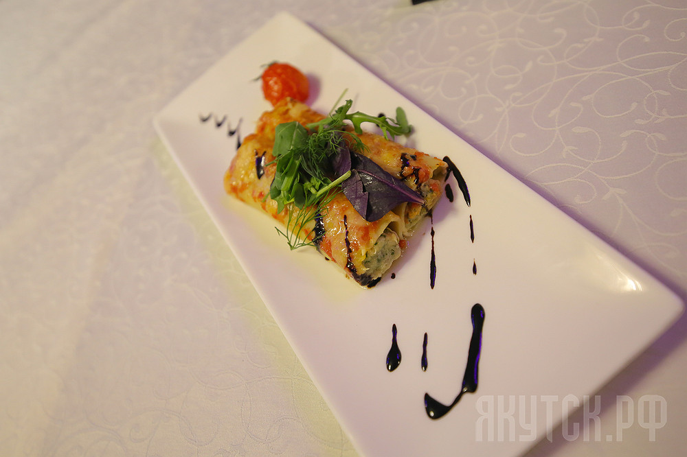 Ресторан КДЦ «Европа» презентовал конкурсные блюда гастрофестиваля «Вкус Якутии»