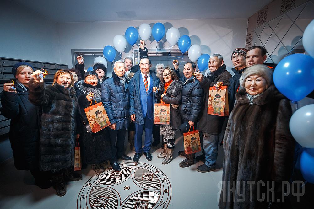В 94 квартале Якутска введен современный жилой комплекс