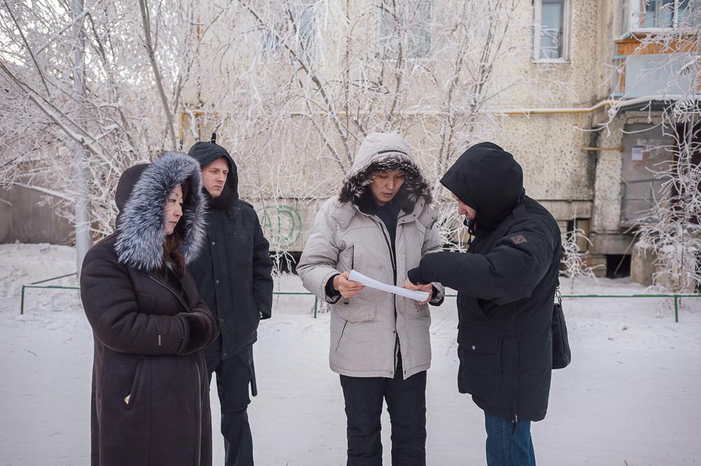 Сотрудники «Сахатранснефтегаз» с судебными приставами провели рейд по адресам должников