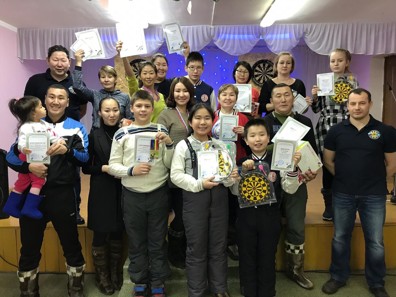 В с. Пригородное прошли соревнования по метанию дротиков