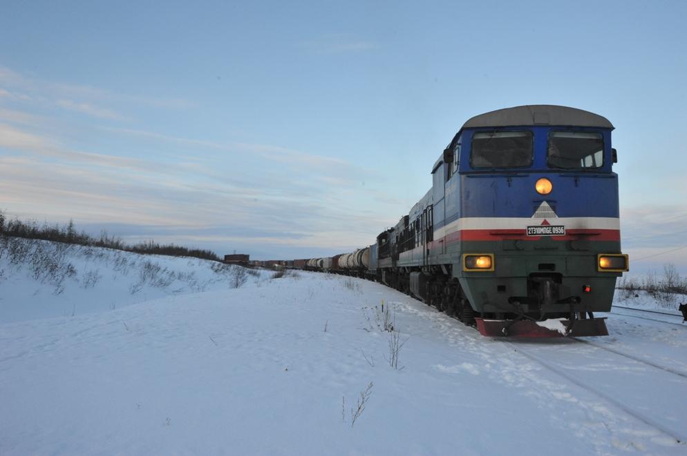 Перевозки акционерной компании «Железные дороги Якутии» за 11 месяцев превысили 4 млн тонн