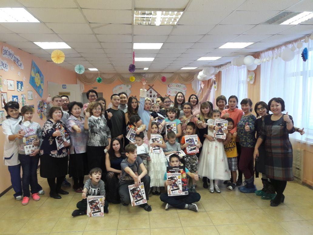 В рамках Фестиваля «Зима начинается с Якутии» прошел совместный выезд с гостями из Москвы!