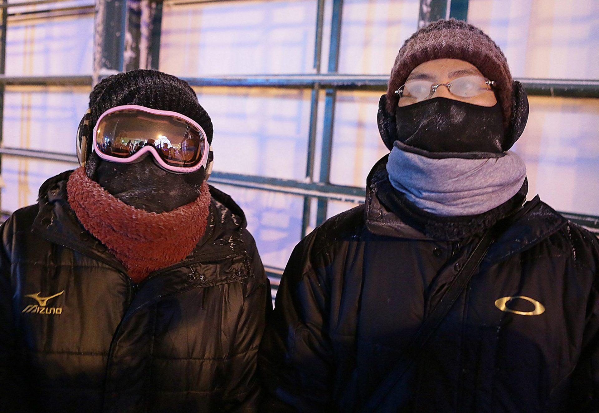 Японцев удивили якутские морозы