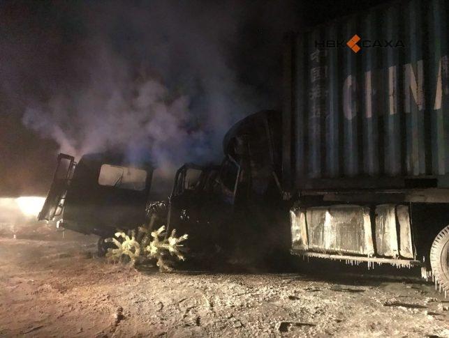 Пострадавший в крупном ДТП водитель КамАЗа прооперирован в Якутске