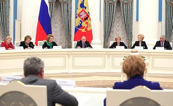 Владимир Путин предложил новые меры поддержки российских семей
