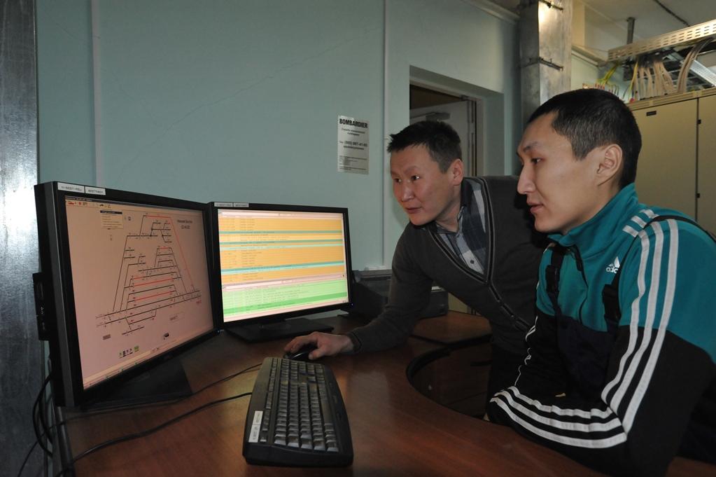Железные дороги Якутии: Движением поездов можно управлять с помощью компьютерной мышки