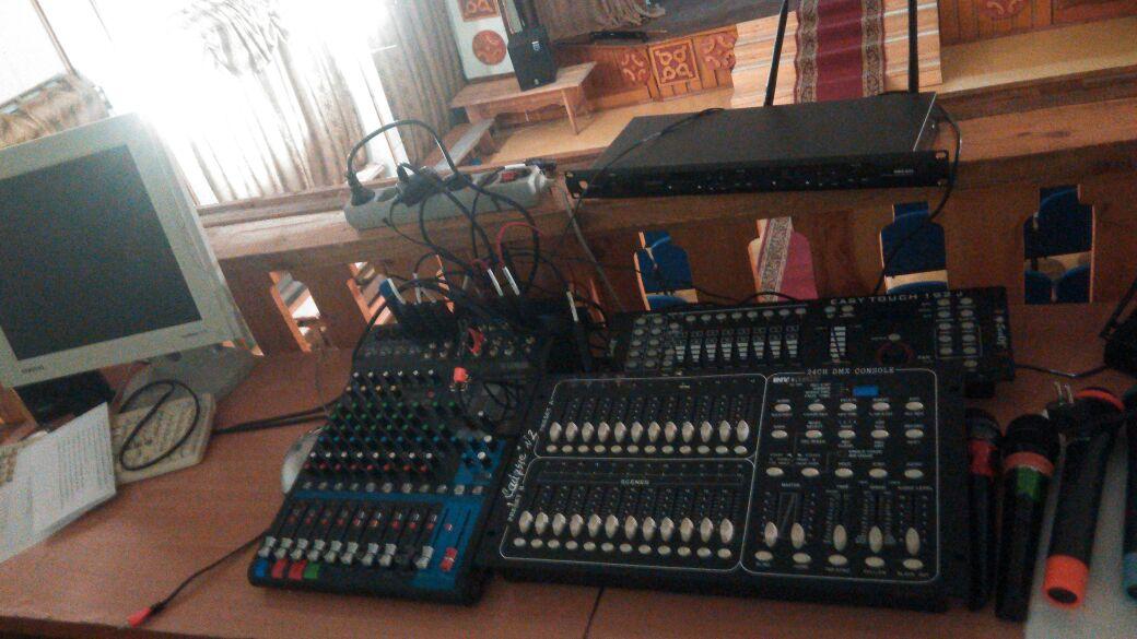 Единоросы подарили Ожулунскому Дому культуры новое оборудование