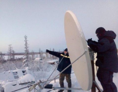 В Абыйском улусе стартовал пилотный проект по организации высокоскоростных спутниковых каналов связи