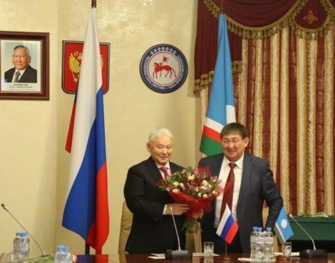 В Москве чествовали первого президента Якутии Михаила Николаева