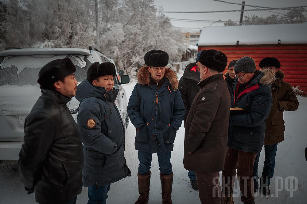 Айсен Николаев проинспектировал санитарное состояние округов