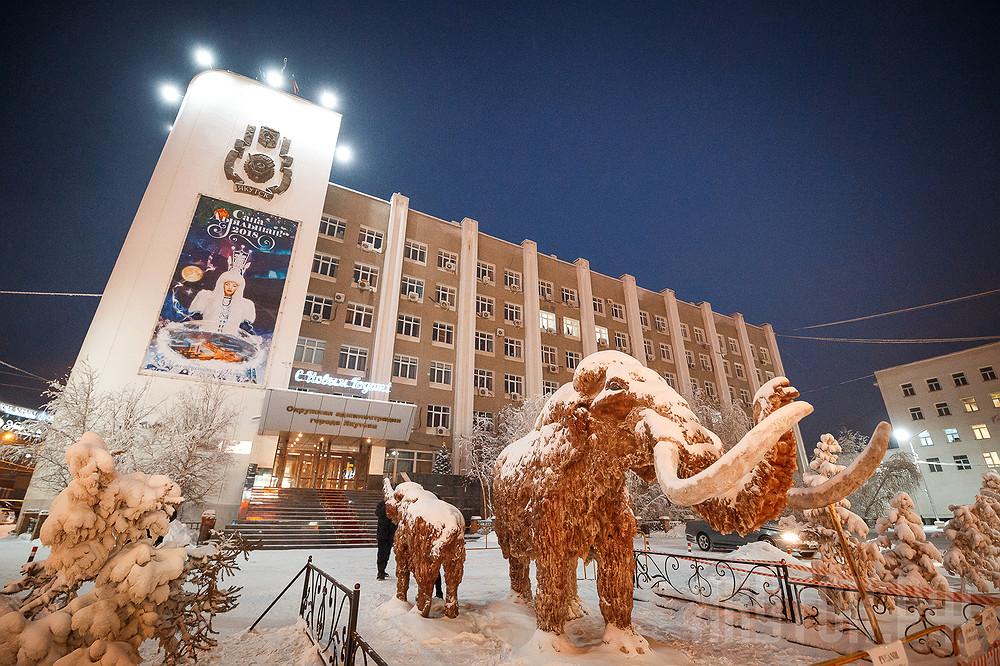 Призываем горожан и гостей столицы бережно относиться к арт-объектам новогоднего Якутска